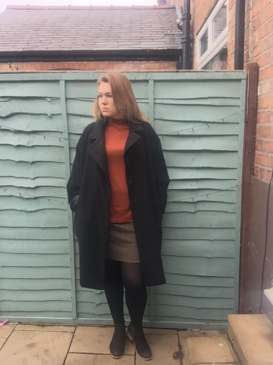 My Trusty Oversized Overworn Coat
