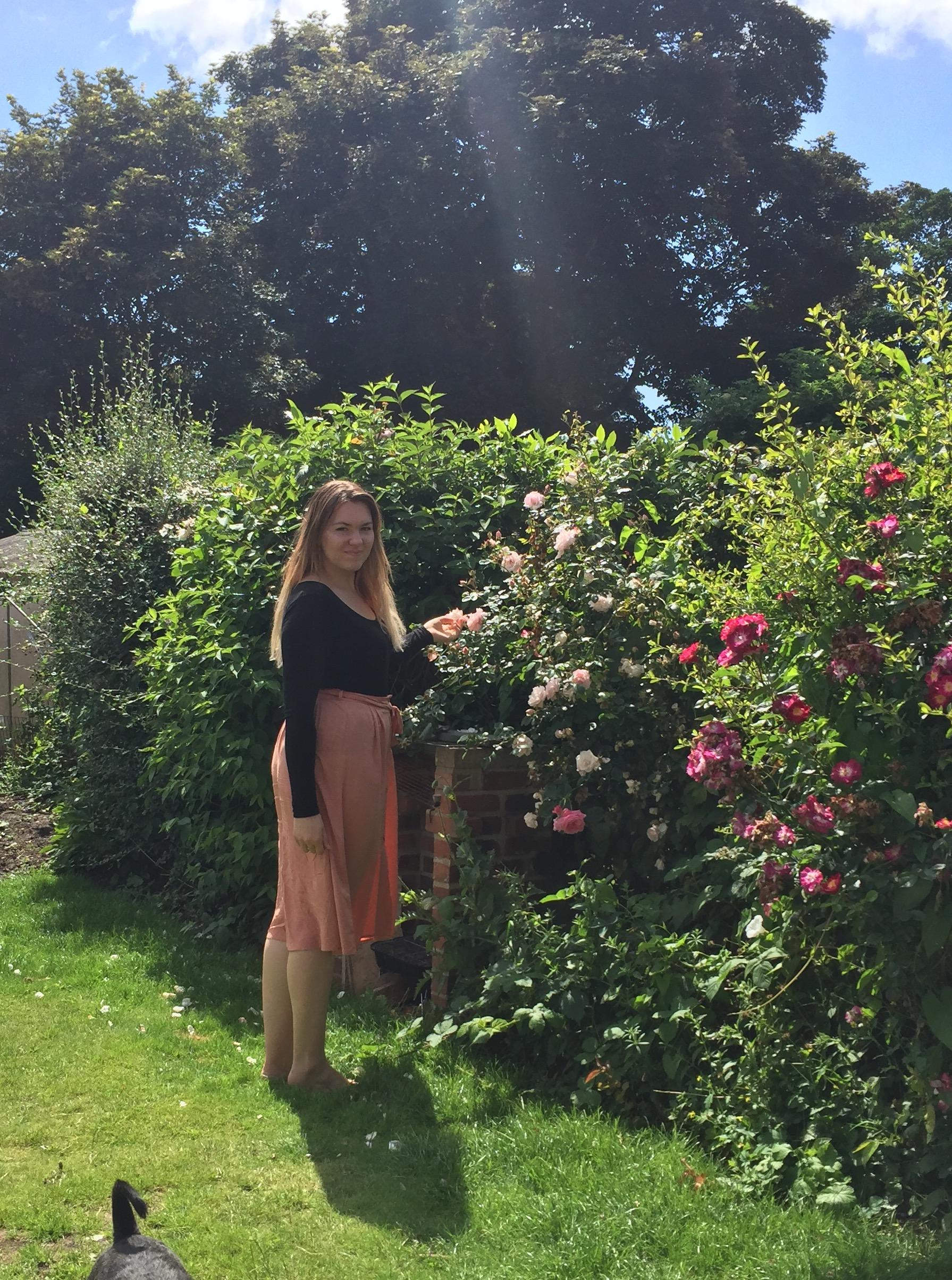 Peach, Violet Glenton, New Look, Summer