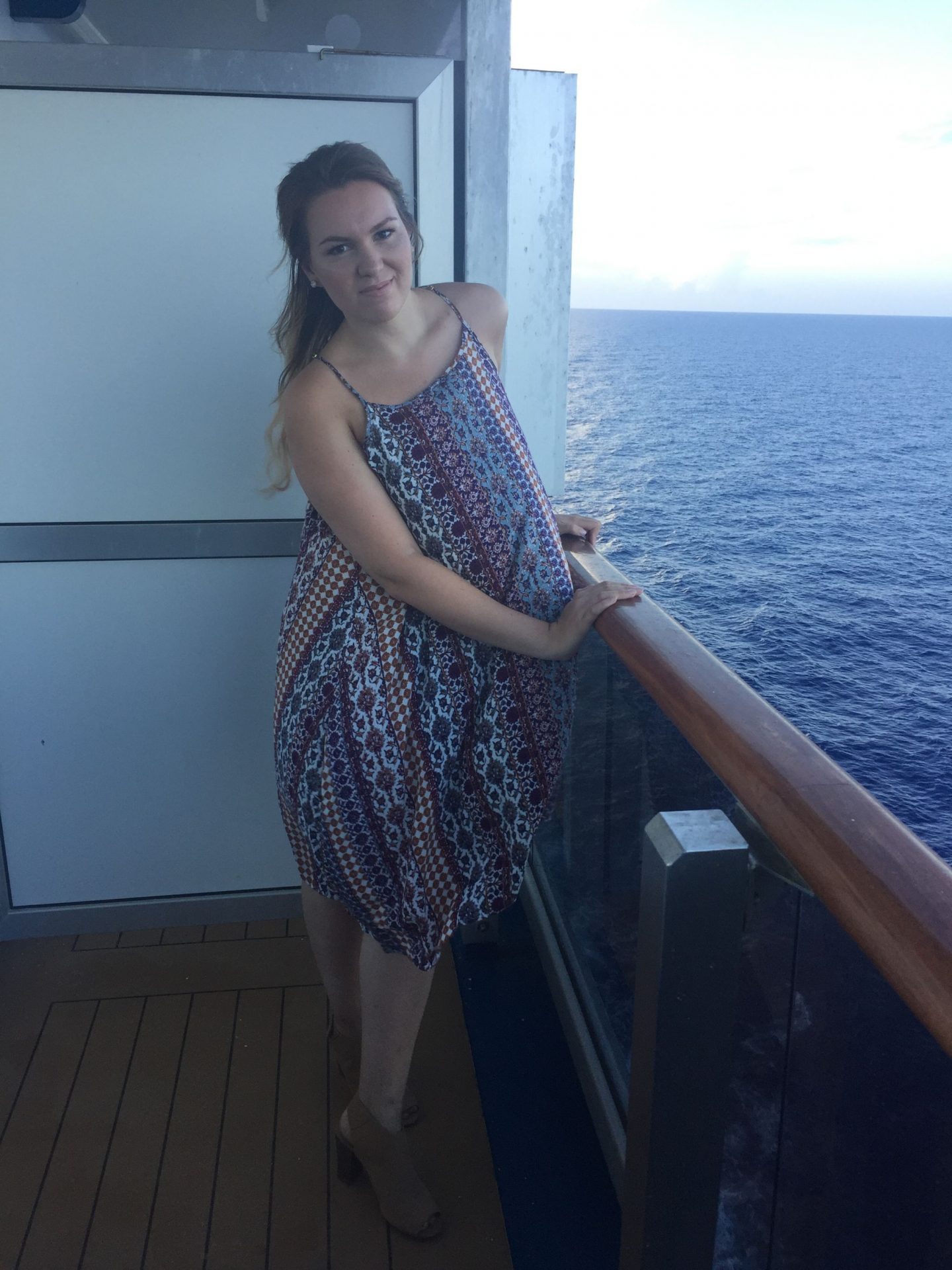 Sea Breeze Look on Honeymoon