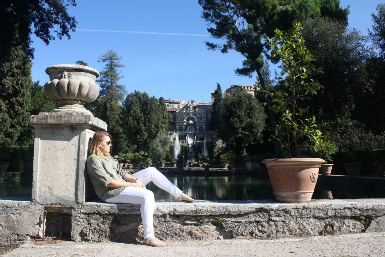 Villa D'Este, Am I Lizzie McGuire yet?