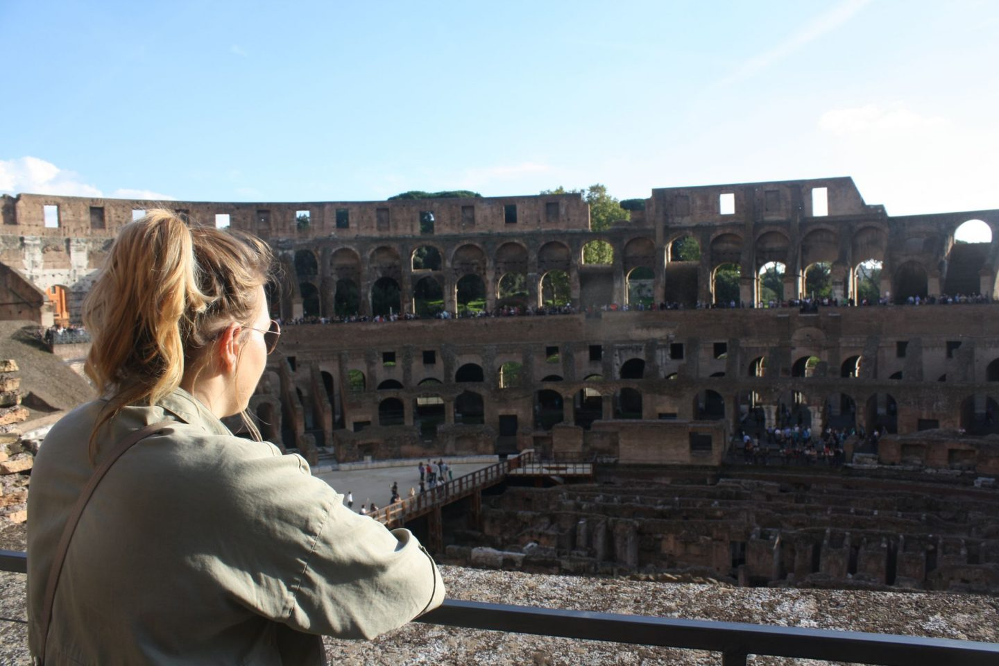 Visiting the Colosseum, Discover Rome