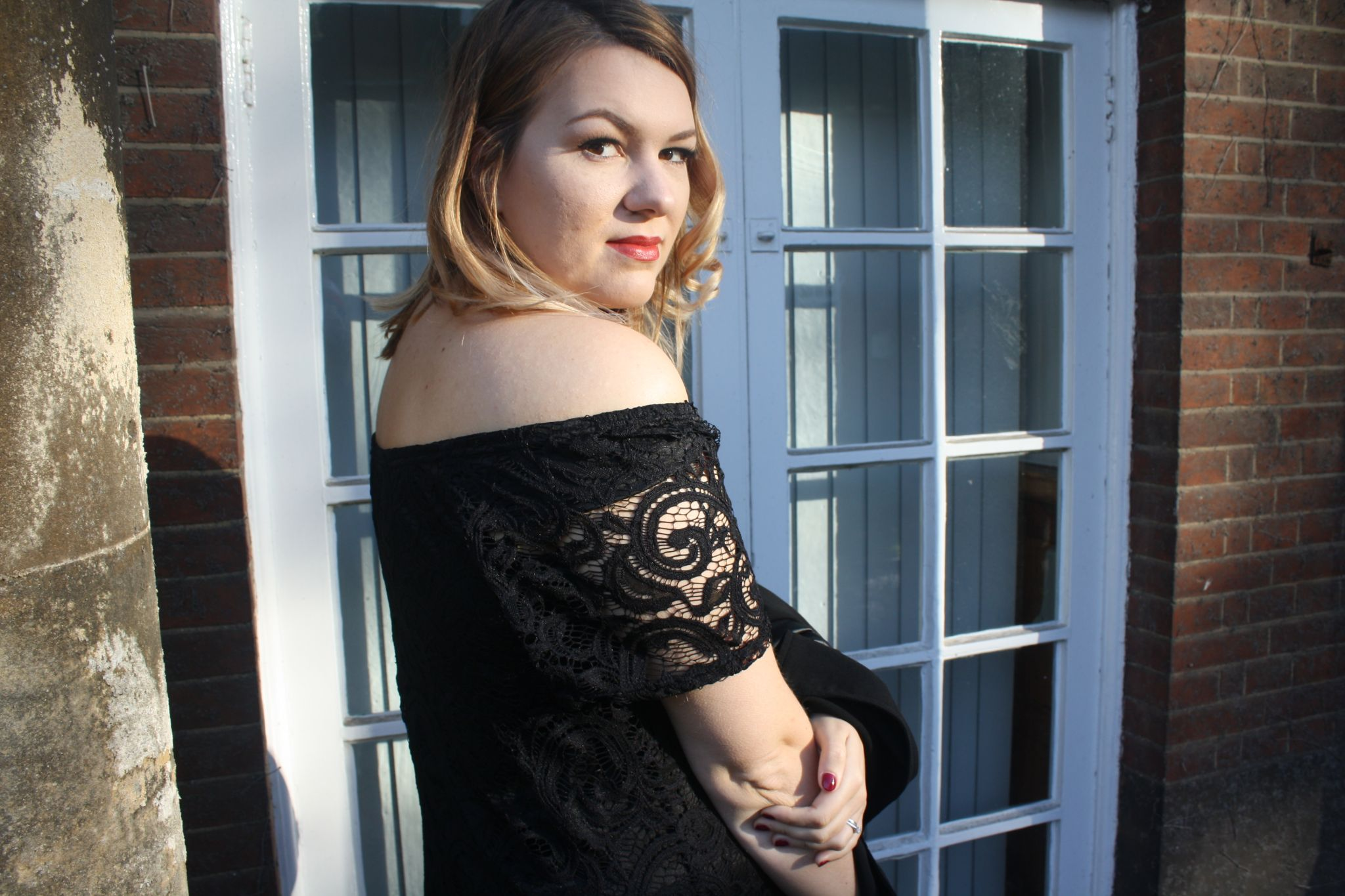 black lace, Violet Glenton, Yours Clothing, Occassion wear, Fashion blogger