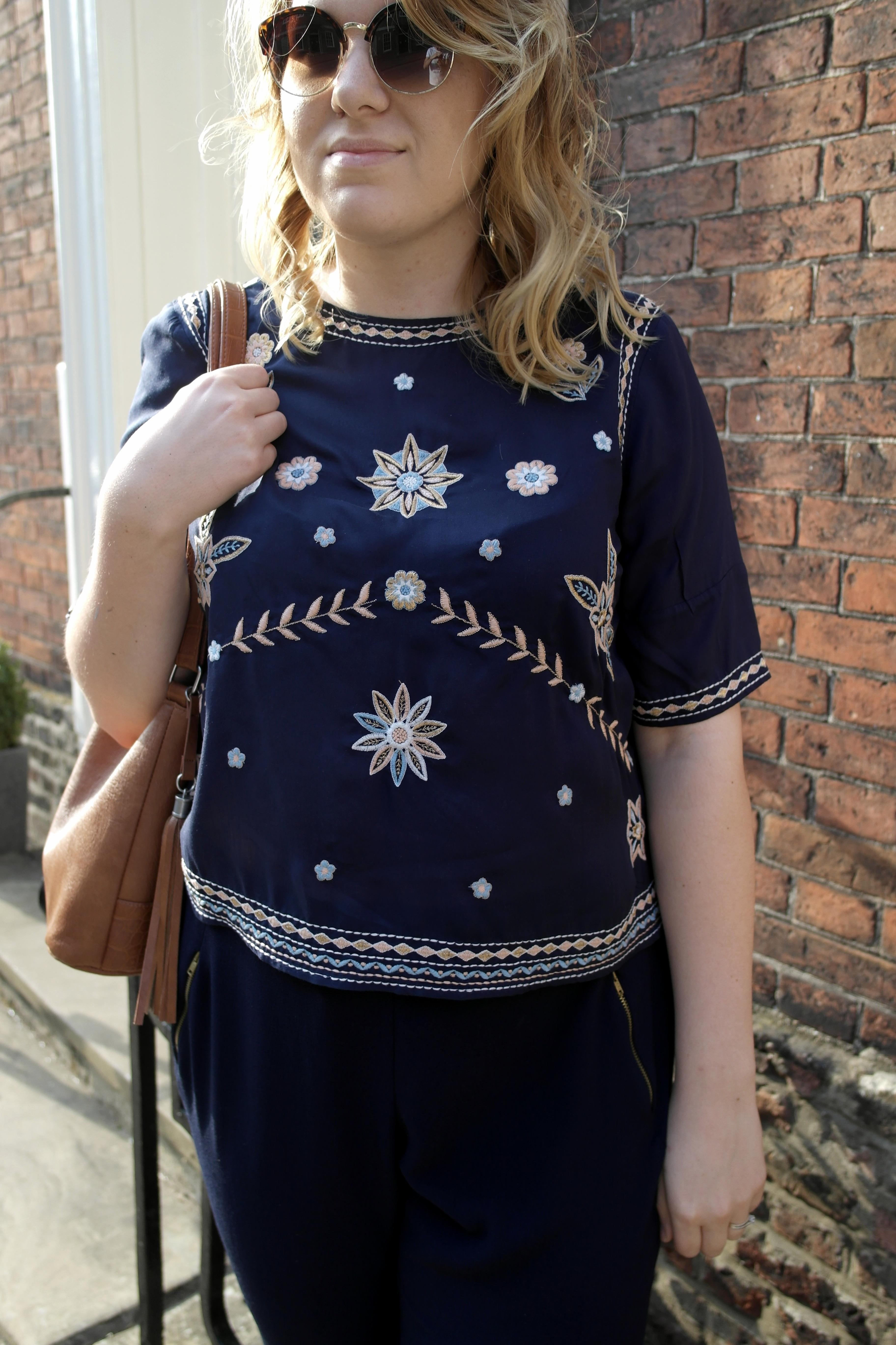 Embroidery, Violet Glenton, Beverley