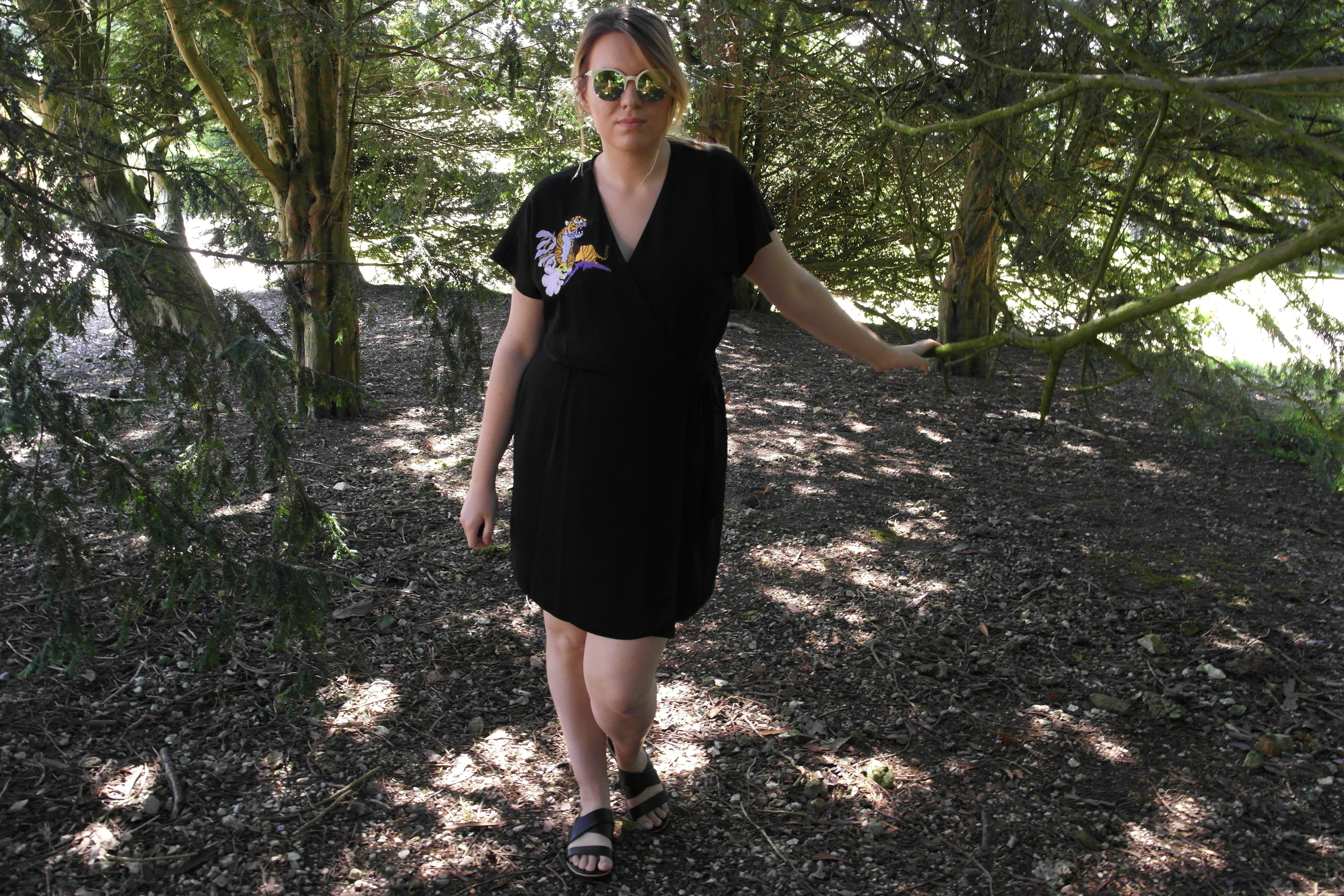 Wrap Dress, Violet Glenton, OOTD, Summer, Summer Fashion