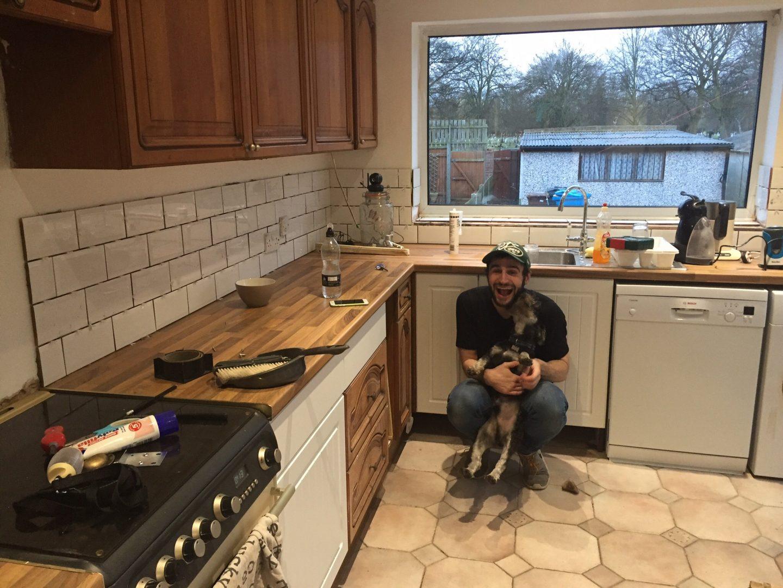 Kitchen, Violet Glenton, During