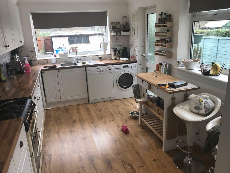 Kitchen, Violet Glenton,, During
